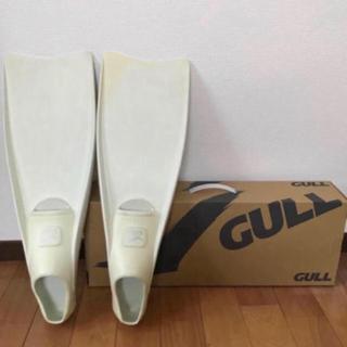 ガル(GULL)のGULL スーパーミュー MEW ガル シュノーケル ダイビング フィン S (マリン/スイミング)