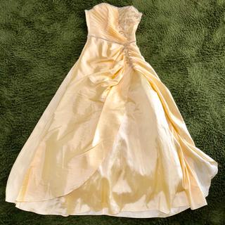 AIMER - ドレスルームアミ ロングドレス ステージドレス カラードレス イエロー