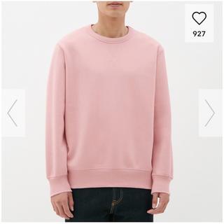 ジーユー(GU)のGU 新品 メンズスウェットシャツ Lサイズ(スウェット)