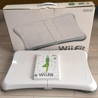 Wii - Wii fit バランスボード とソフトのセット