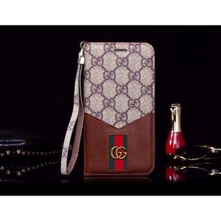 グッチ(Gucci)のGUCCI iPhone7/8 携帯電話ケース[ブラウン](iPhoneケース)