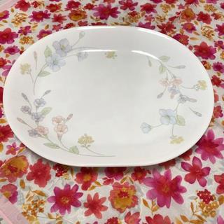 コレール(CORELLE)の皿 コレール 花柄 オーバルプレート 楕円 大皿(食器)