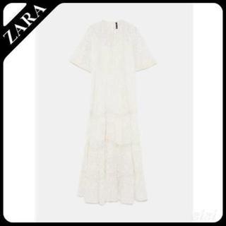 ザラ(ZARA)のZARA ロングワンピ ドレス(ロングワンピース/マキシワンピース)