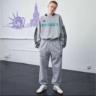 アディダス(adidas)のGosha rubchinskiy adidas スウェット グレー M(スウェット)