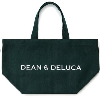 ディーンアンドデルーカ(DEAN & DELUCA)のDEAN&DELUCA トートバック ダークグリーンSサイズ (トートバッグ)