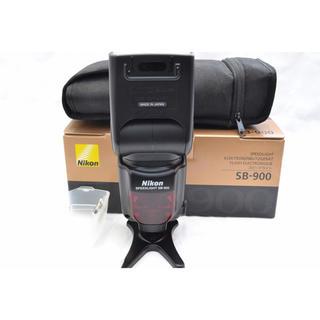 ニコン(Nikon)のニコン スピードライト SB900 フラッシュ nikon(ストロボ/照明)