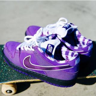 ナイキ(NIKE)の25cm Nike sb dunk pro Purple Lobster(スニーカー)