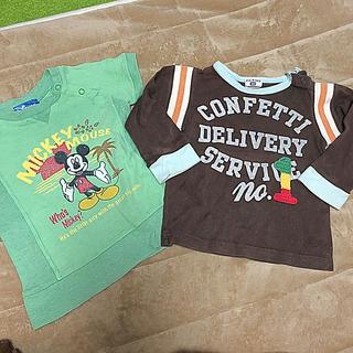 エフオーキッズ(F.O.KIDS)の90センチ F.O.kids ミッキーセット(Tシャツ/カットソー)