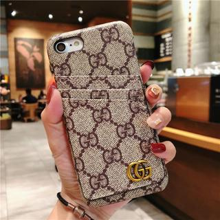 グッチ(Gucci)のGUCCI グッチ保護カバー iPhone 7/8lケース カード収納(iPhoneケース)
