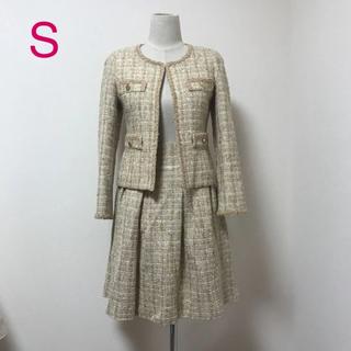 クイーンズコート(QUEENS COURT)のクイーンズコート ウール  ツイード  セレモニー スーツ(スーツ)