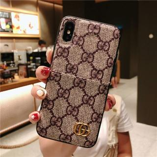 グッチ(Gucci)のGUCCI グッチ☆新品 iPhone X/Xs用ケース カード収納(iPhoneケース)