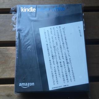 新品未開封 Kindle  PaperWhite マンガモデル 32GB 黒(電子ブックリーダー)