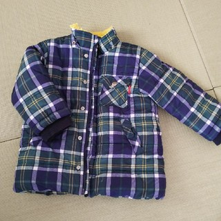 ムージョンジョン(mou jon jon)の男の子 中綿ジャケット 裏ボア サイズ100(ジャケット/上着)