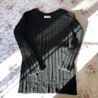 ヴァンドゥーオクトーブル(22 OCTOBRE)の22OCTOBRE   東京スタイル  黒  ブラック  セーター(ニット/セーター)