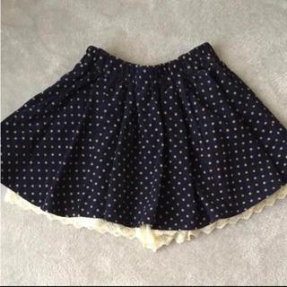 シマムラ(しまむら)のしまむら*コーデュロイ スカートパンツ*130(スカート)