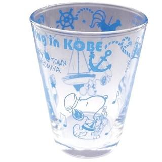 スヌーピー(SNOOPY)の週末限定値下げ! スヌーピー 神戸限定 ちびグラス 2個セット(グラス/カップ)