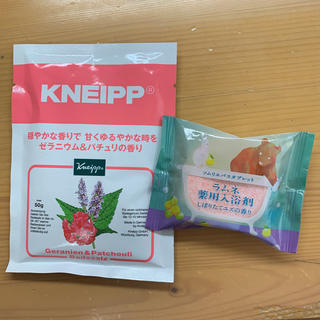 クナイプ(Kneipp)の入浴剤セット(入浴剤/バスソルト)