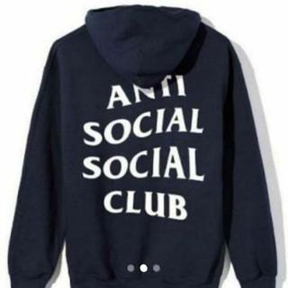 アンチ(ANTI)のAnti Social Social Club アンチソーシャルソーシャルクラブ(パーカー)