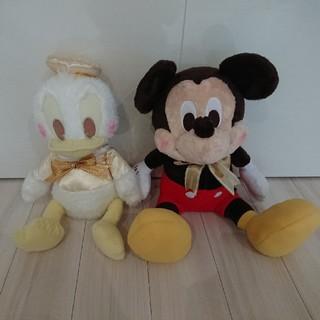 ディズニー(Disney)のミッキー&ドナルドBIGぬいぐるみ(キャラクターグッズ)