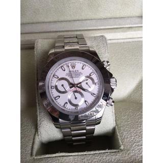 ロレックス(ROLEX)のROLEXロレックス Daytona 腕時計 (金属ベルト)