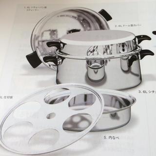 アムウェイ(Amway)のTiara様専用☆アムウェイ 6Lシチーパン☆未使用品(鍋/フライパン)