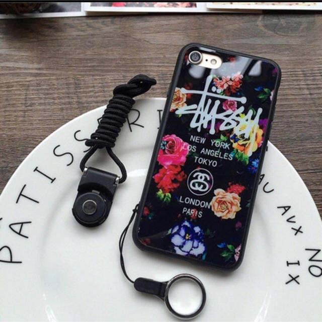 stussy iPhoneケースの通販 by 優奈's shop|ラクマ