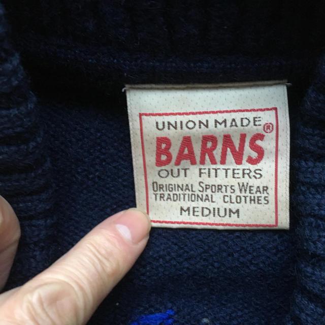 Barns OUTFITTERS(バーンズアウトフィッターズ)のとてもかっこいい BARNS サイズミディアム メンズのトップス(その他)の商品写真