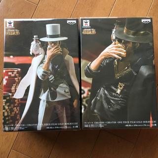 バンプレスト(BANPRESTO)の新品 ONE PIECE FILM GOLD ルッチ フィギュア(アニメ/ゲーム)