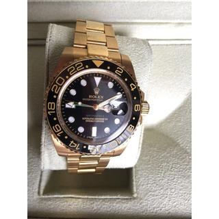 ロレックス(ROLEX)のROLEXロレックス GMTマスターll 自動巻き メンズ腕時計 ウォッチ(金属ベルト)