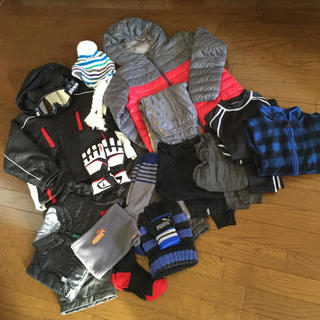 スキーウエア ゴーグル 手袋 アンダー等一式 130㎝ 男の子用(ウエア)