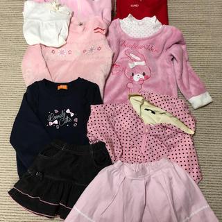 シマムラ(しまむら)の120 ㎝ 女の子 まとめ売り(Tシャツ/カットソー)