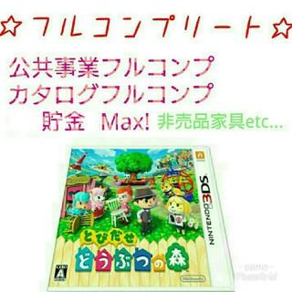ニンテンドー3DS(ニンテンドー3DS)のとびだせどうぶつの森(携帯用ゲームソフト)