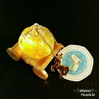 カボチャの馬車♡オイルチャーム♡シンデレラ♡ガラスの靴♡プリンセス♡イエロー(キャラクターグッズ)
