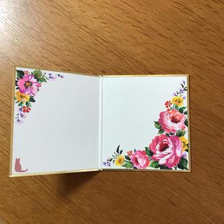 二つ折り豆色紙  薔薇(アート/写真)
