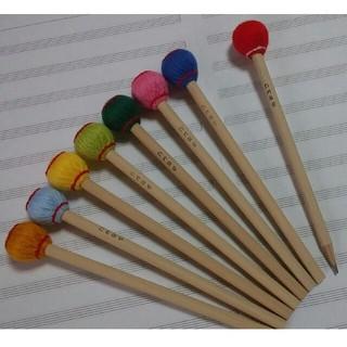 マレット鉛筆 1本 マリンバ木琴バチ型(木琴)