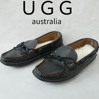 アグ(UGG)のUGG australia アグ 10サイズ28センチ相当 黒色 シューズ(スリッポン/モカシン)