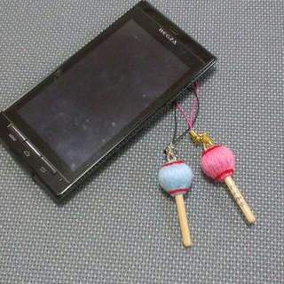マレットストラップ 1本 マリンバ木琴バチ型(木琴)