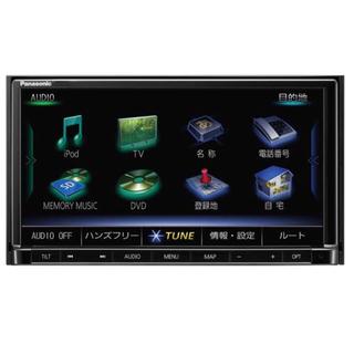 パナソニック(Panasonic)のスズキ純正 7インチ 一体型フルセグ カーナビ 99000-79BM6(カーナビ/カーテレビ)