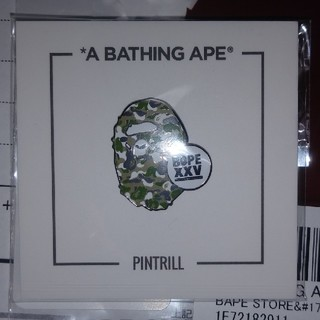 A BATHING APE - APE ape head pins