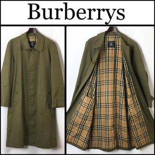 バーバリー(BURBERRY)の90年代 Burberrys プローサム ステンカラーコート 裏地ノバチェック(ステンカラーコート)