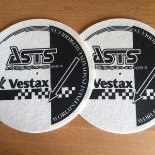 ベスタクス vestax  ASTSスリップマット ペア(その他)