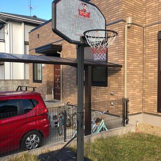 バスケットゴール高さ調整付き 2m60〜3m05 引き取りのみ 奈良県大和郡山市