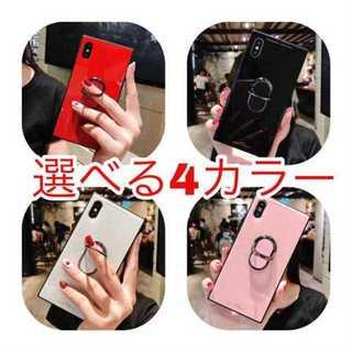 iPhone7 iPhone8 選べるカラー ケース バンカーリング付き (iPhoneケース)