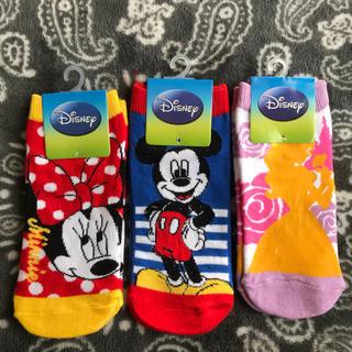 ディズニー(Disney)の新品 ディズニー靴下3足セット(ソックス)