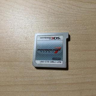 ニンテンドー3DS(ニンテンドー3DS)のマリオカート3DS ケースなし(携帯用ゲームソフト)