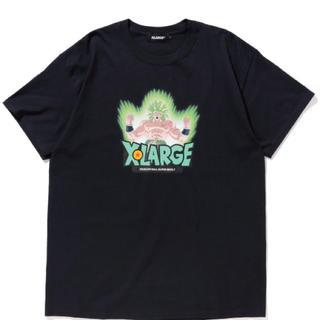 エクストララージ(XLARGE)のXLARGE ブロリー ドラゴンボールコラボ 新品未使用 M ブラック 送料無料(Tシャツ/カットソー(半袖/袖なし))