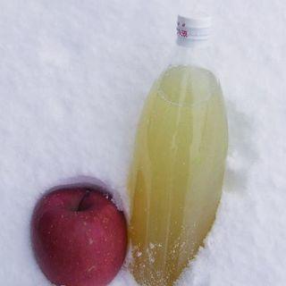 青森県産りんごジュース1リットル3本☆ストレート果汁♪送料無料 (フルーツ)
