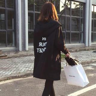新作☆ナイロンジャケット モッズコート オルチャンファッション(ナイロンジャケット)