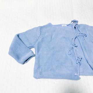キャラメルベビー&チャイルド(Caramel baby&child )のKaloo cardigans blue コットンカーディガン ブルー(カーディガン/ボレロ)
