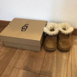 アグ(UGG)のUGG ugg ムートンブーツ キッズ 14.5(ブーツ)
